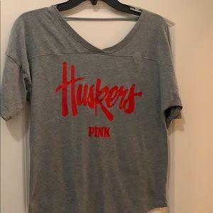 Pink Husker Top